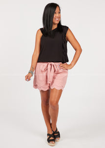 Bentley Scalloped Shorts  - FINAL SALE