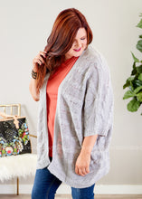 Load image into Gallery viewer, Simple Treasure Sweater Kimono