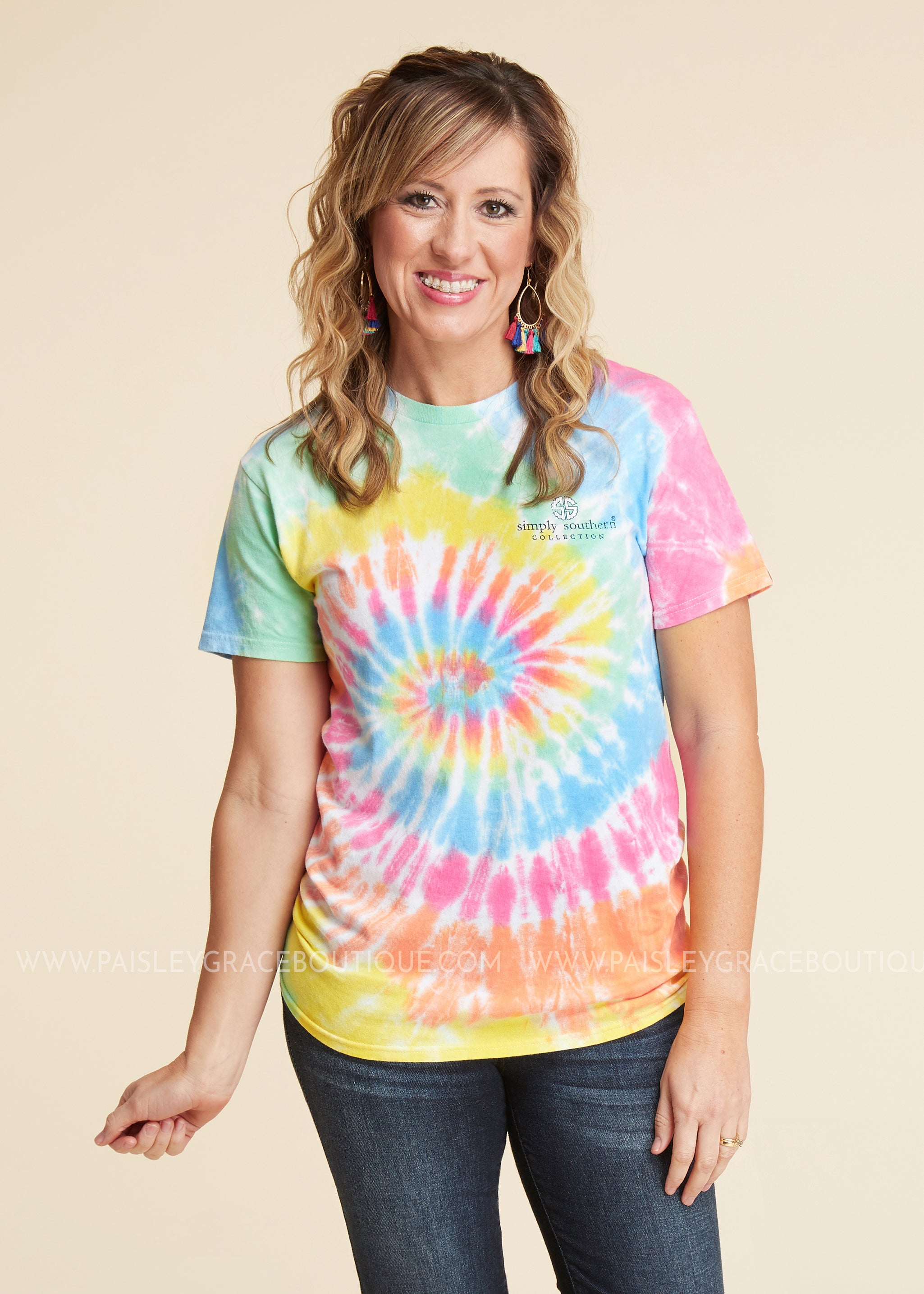 Bless This Mess Tee by Simply Southern