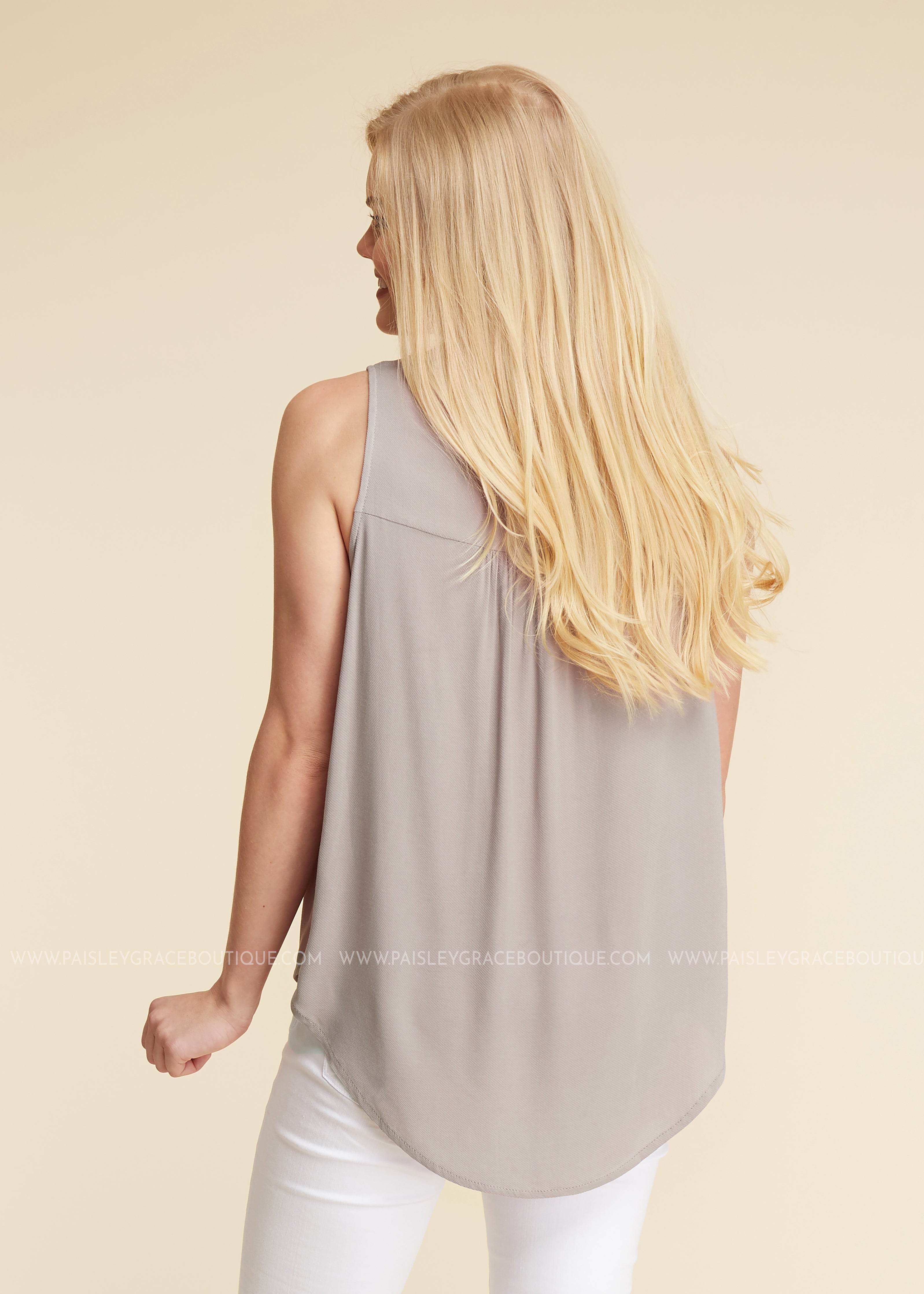 Wishful Thinking Top- TAUPE