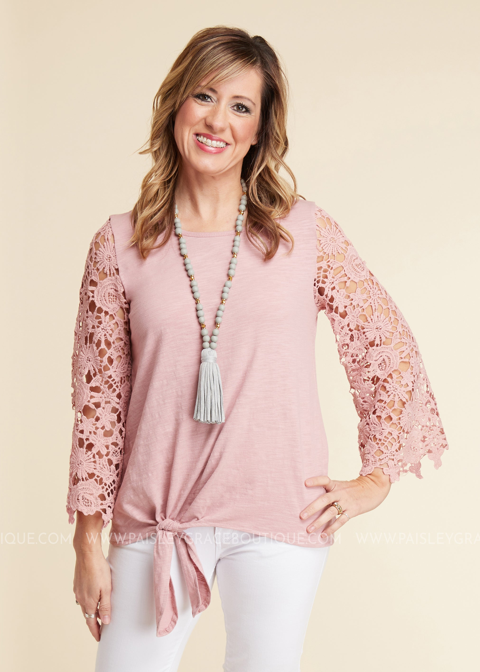 Lace Obsession Top - FINAL SALE