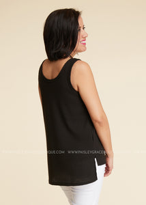 Exposé Button Tank - FINAL SALE