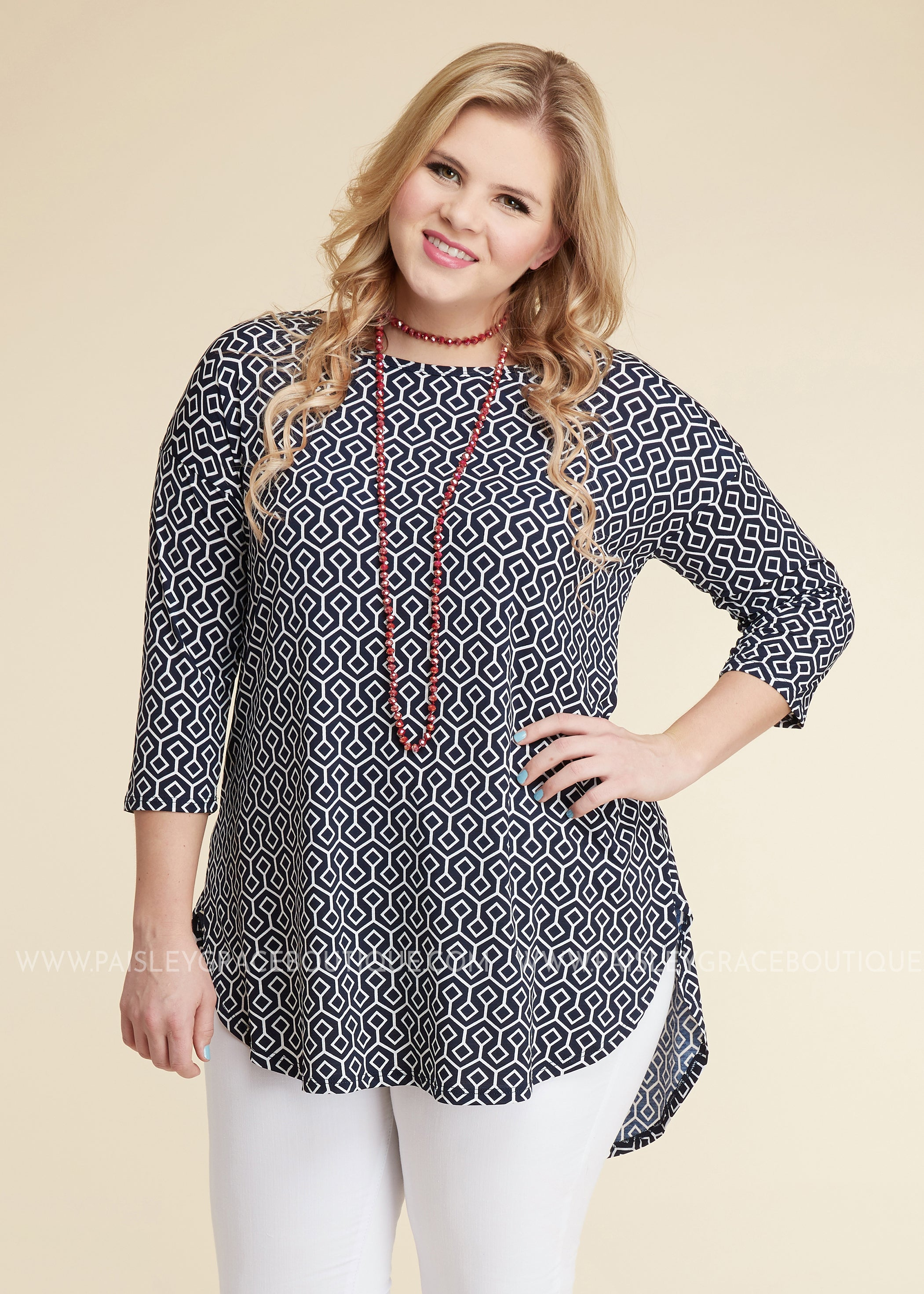 A-Maze Me Top - FINAL SALE