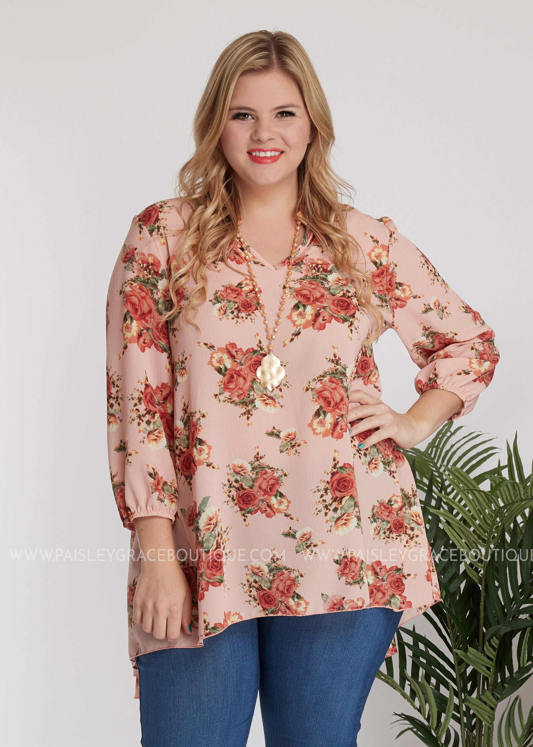 Just Peachy Top - FINAL SALE