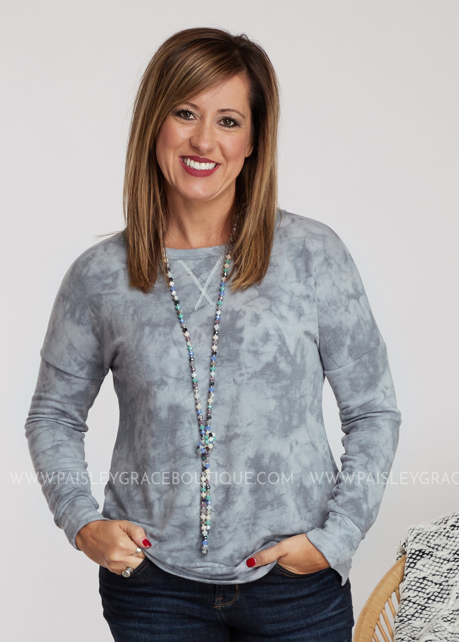 Perfect Pastime Top - Blue - FINAL SALE