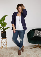 Load image into Gallery viewer, Blaze A Path Blazer-NAVY - FINAL SALE