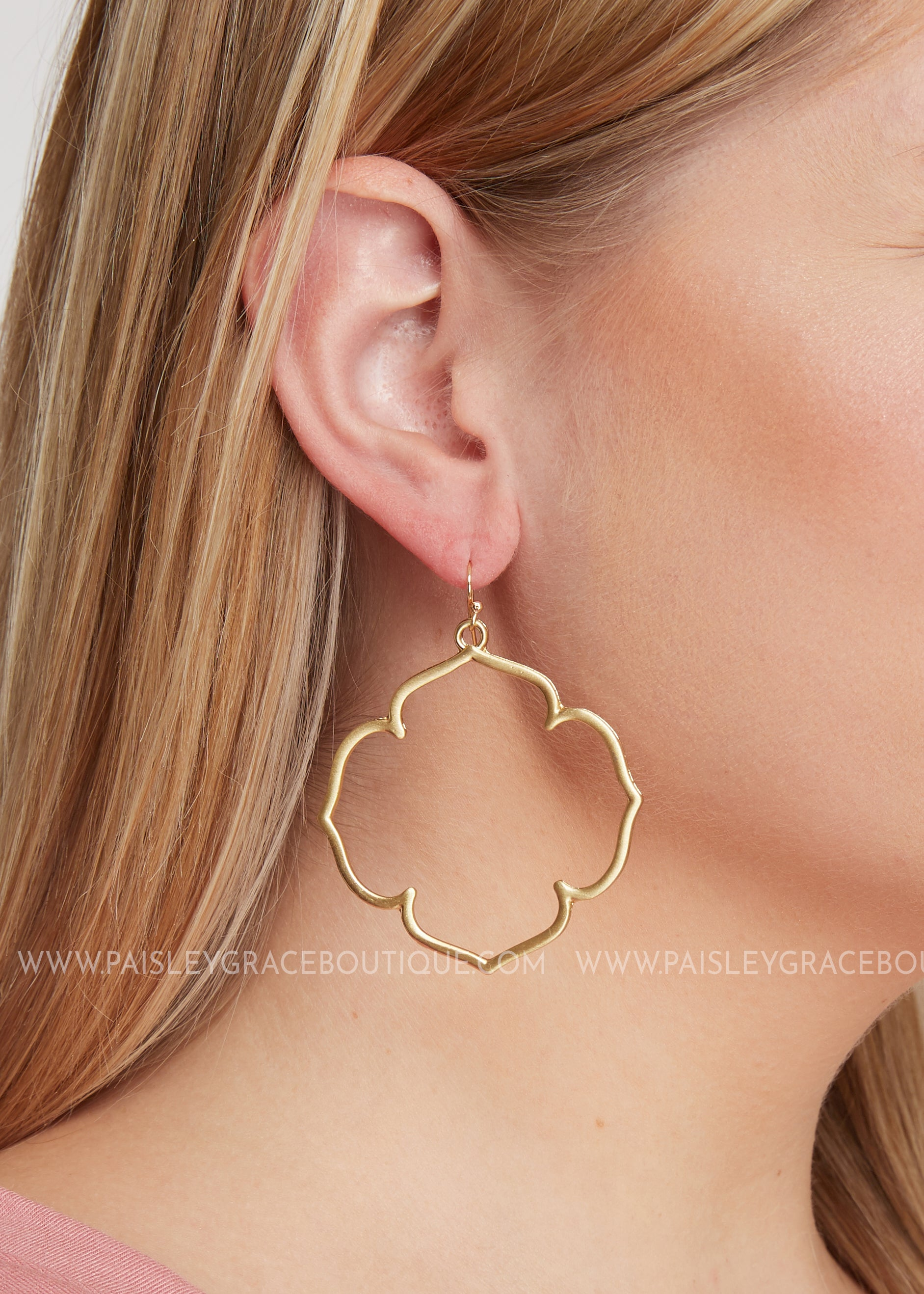 Norway Earrings Gold