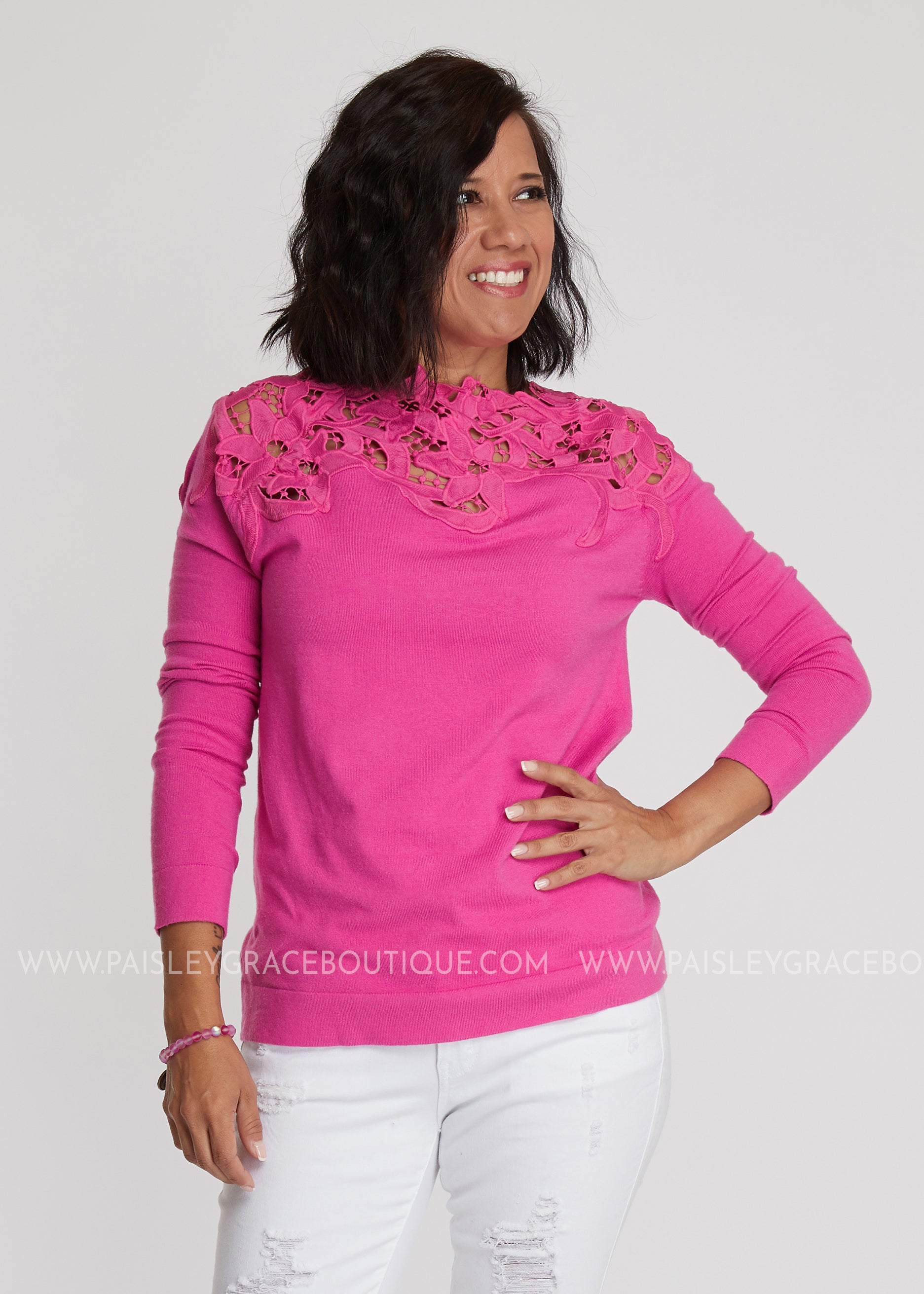 Pretty In Pink Top - FINAL SALE