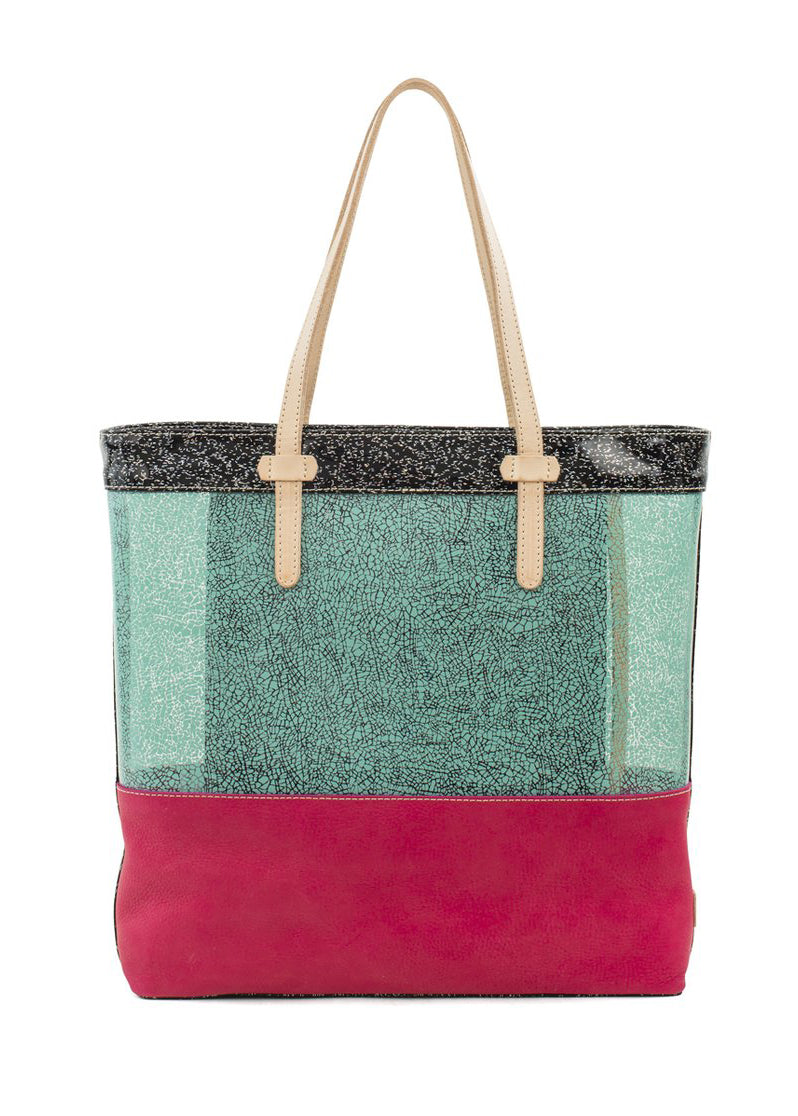 Market Tote- Rosa Irrsistible By Consuela