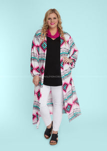 Moroccan Breeze Duster - FINAL SALE