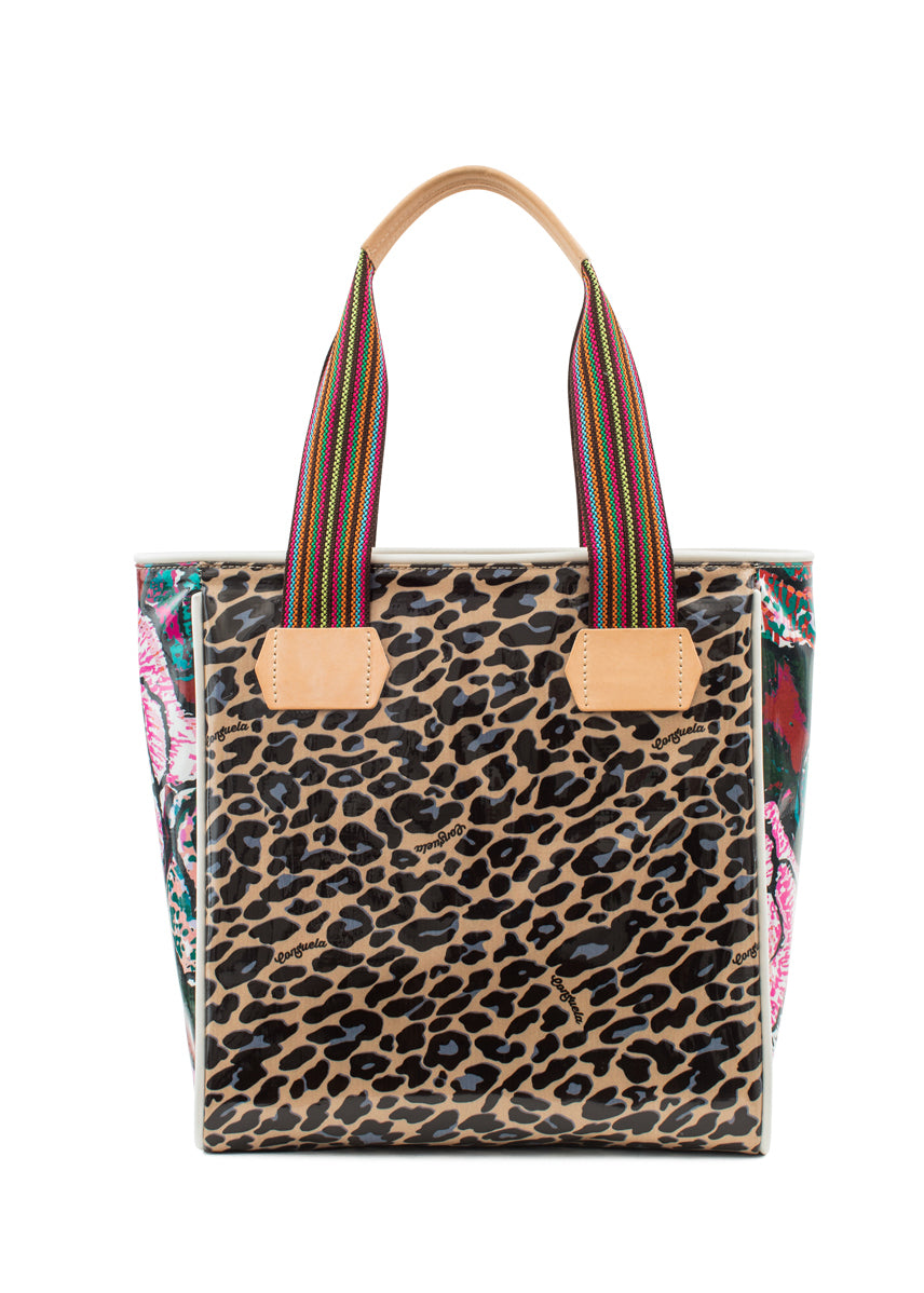 Classic Tote-Mel Blue Jag By Consuela
