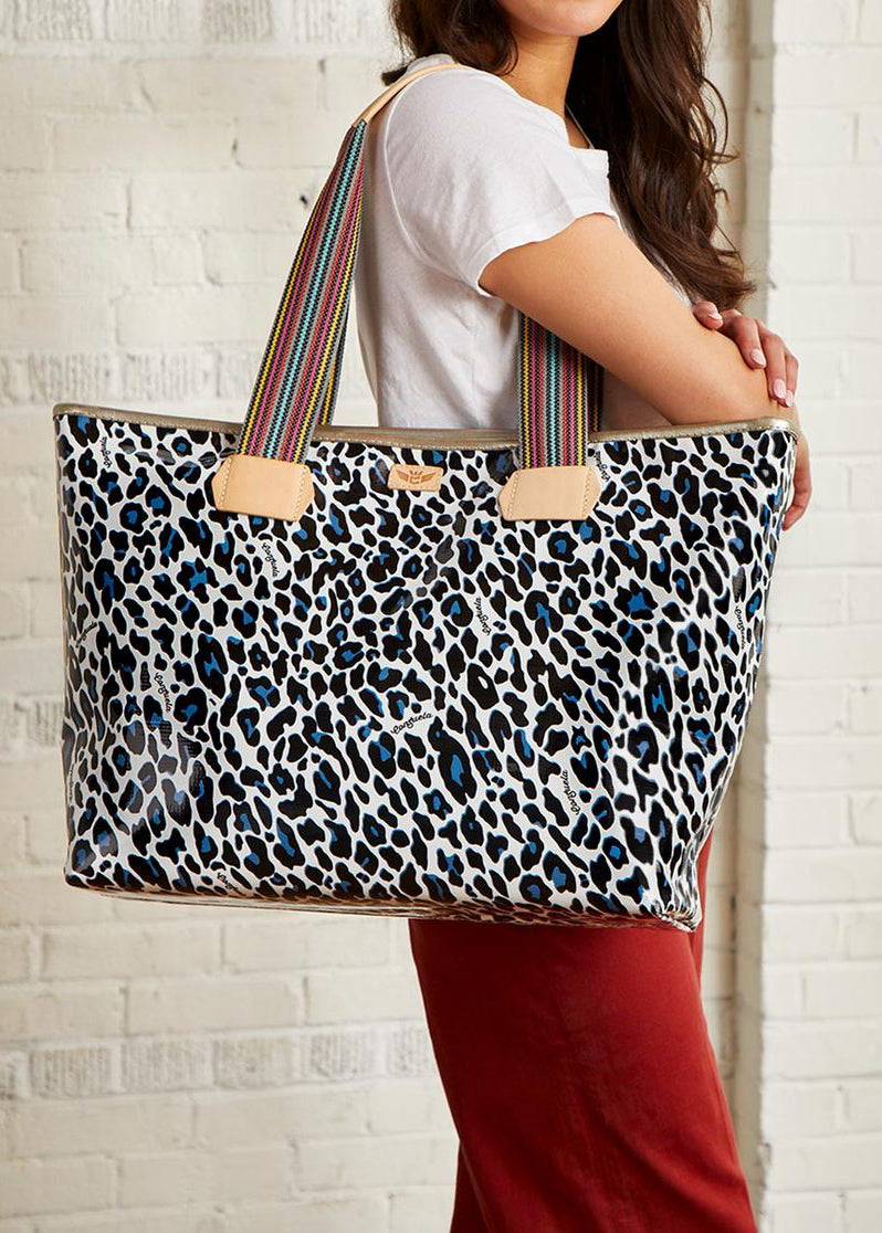 Zipper Tote- Lola By Consuela