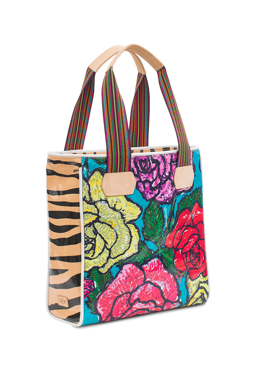 Classic Tote- Rosie By Consuela