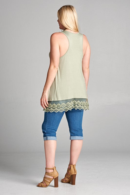 Emory Tunic Extender-SAGE-FINAL SALE