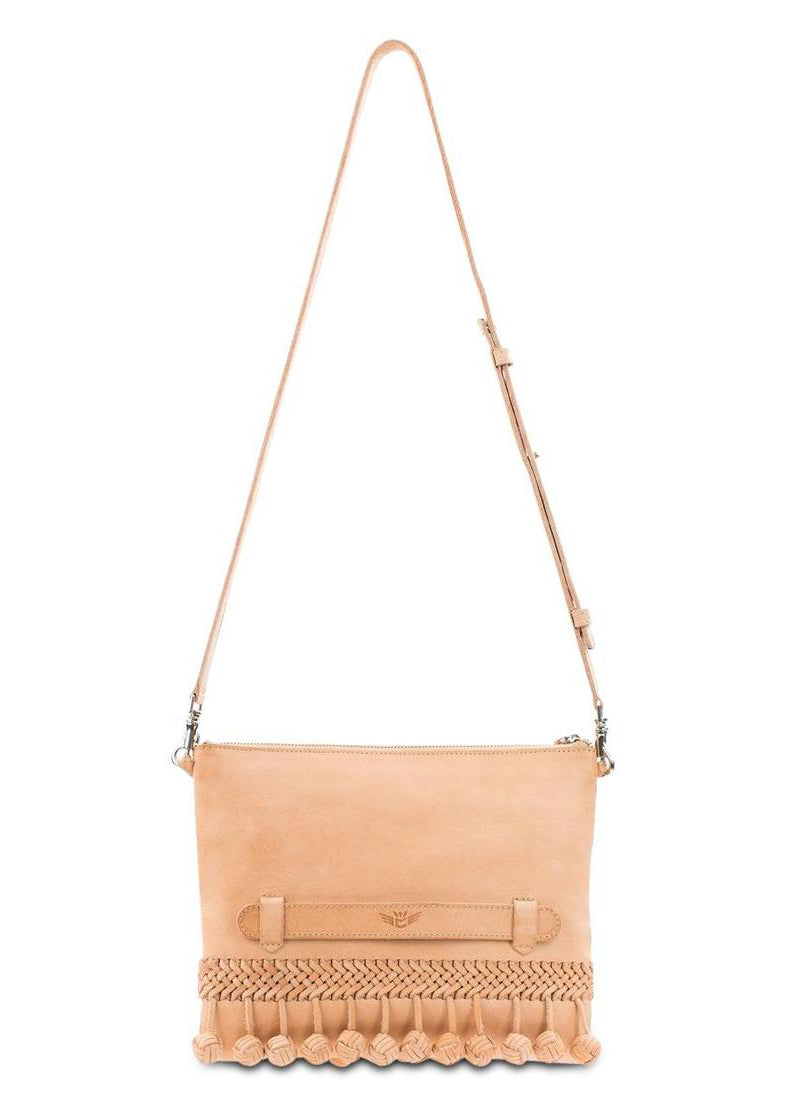 Fiesta Crossbody- Frida Natural By Consuela
