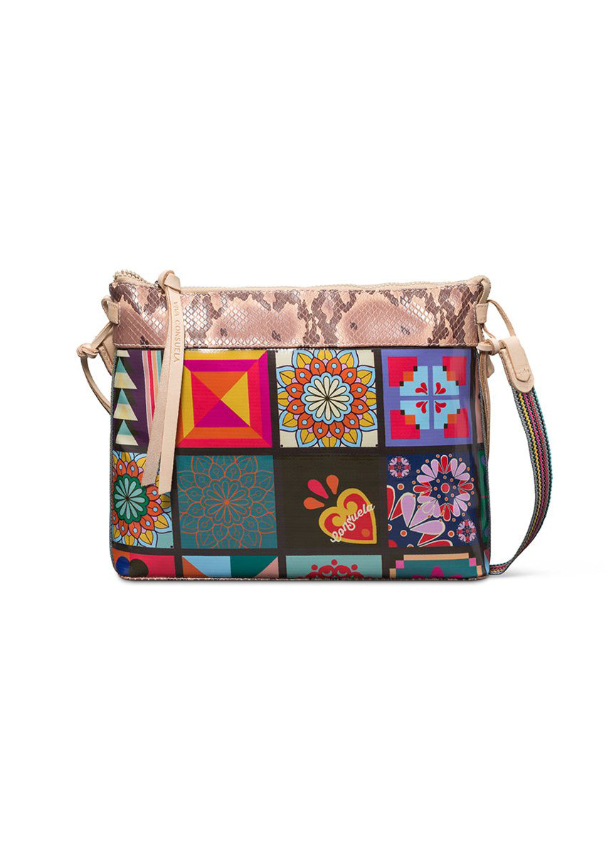 Downtown Crossbody- Allie Tiles By Consuela