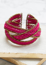 Load image into Gallery viewer, Julia Cuff Bracelet- Pink