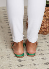Load image into Gallery viewer, Kaylee Sandal -GREEN - FINAL SALE