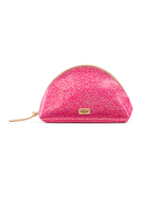 Large Cosmetic Bag- Hottie Glitz By Consuela RESTOCK
