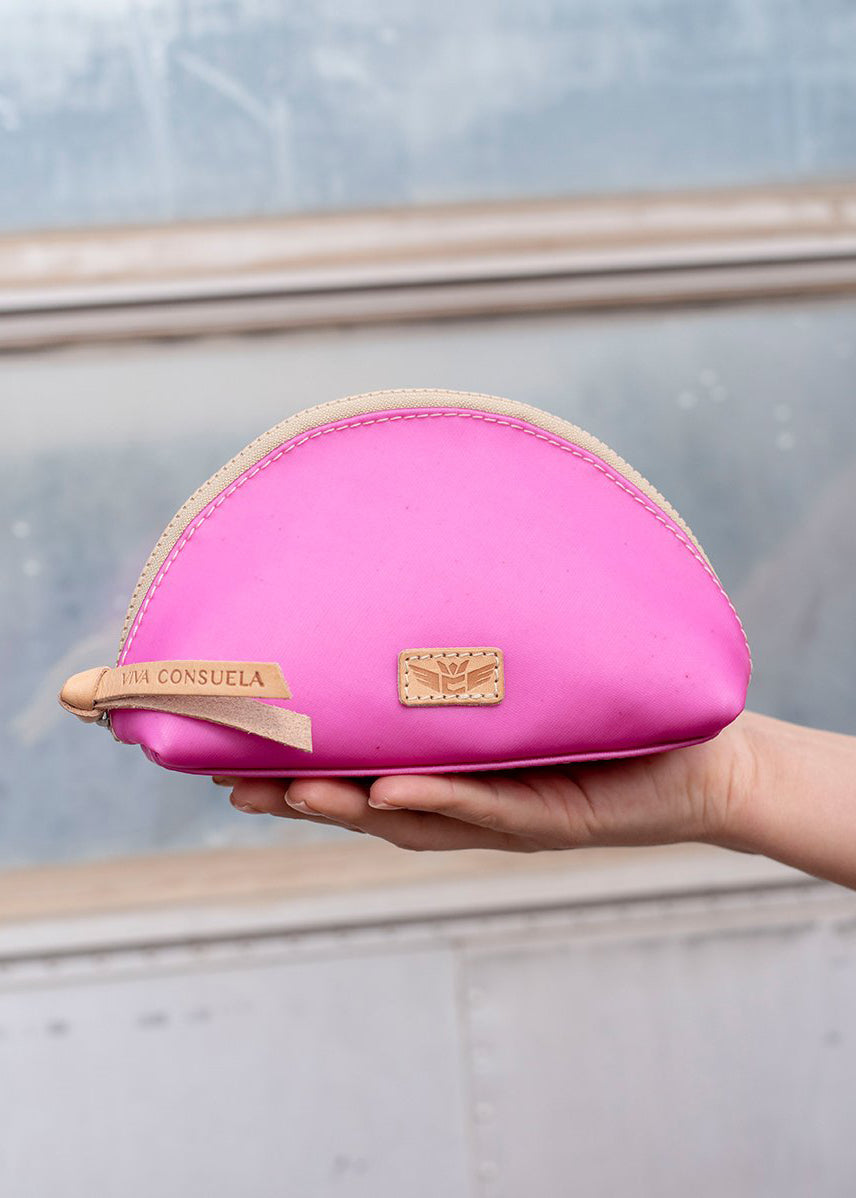 Medium Cosmetic Bag- Pinkie By Consuela