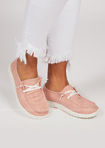 Holly Slip-On Sneaker-PINK- DOORBUSTER