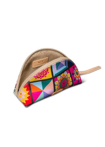 Medium Cosmetic Bag- Allie By Consuela