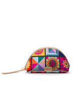 Load image into Gallery viewer, Medium Cosmetic Bag- Allie By Consuela