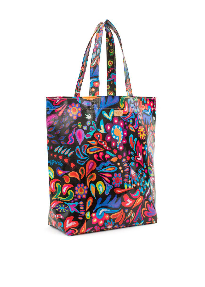 Grab 'n' Go Basic- Sophie Black Swirly By Consuela