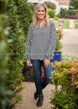 Load image into Gallery viewer, Just My Stripe Top  - FINAL SALE