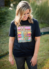 Load image into Gallery viewer, Serape Cactus Tee