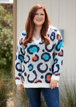 Load image into Gallery viewer, Spotted in Sedona Sweater  - FINAL SALE