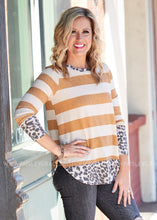 Load image into Gallery viewer, Chic Simplicity Top- MUSTARD