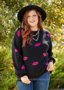 Kiss on the Lips Sweater  - FINAL SALE