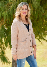 Load image into Gallery viewer, Penelope Sweater Cardigan-BEIGE