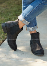 Load image into Gallery viewer, Blake Bootie- BLACK