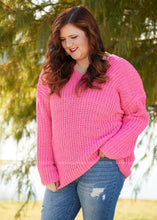 Load image into Gallery viewer, Sweetheart Sweater- PINK