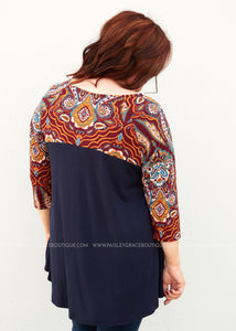Roman Holiday Top - FINAL SALE