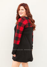 Load image into Gallery viewer, Plaid Bliss Dress  - FINAL SALE
