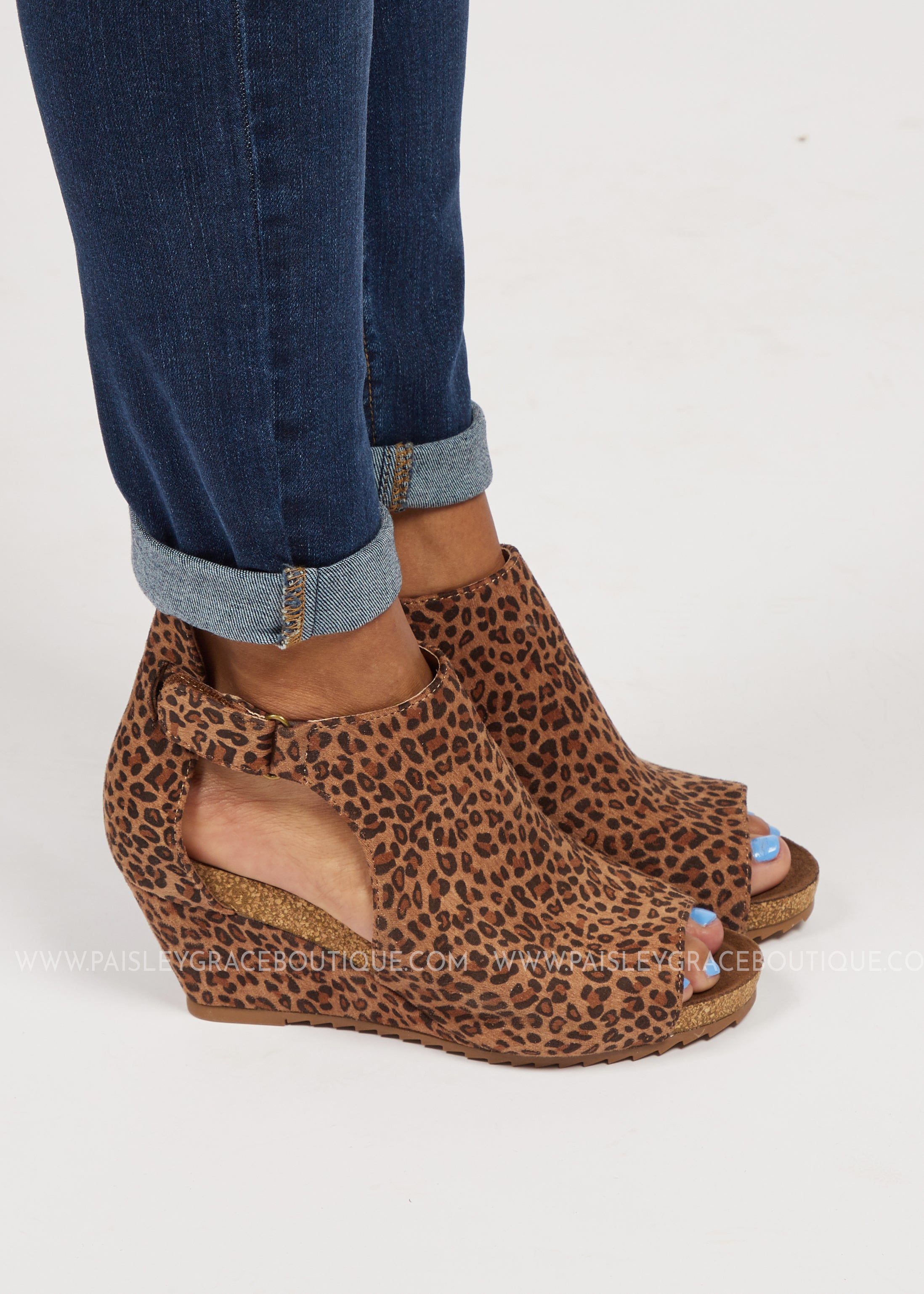 Sunburst Wedge by Corkys-Leopard