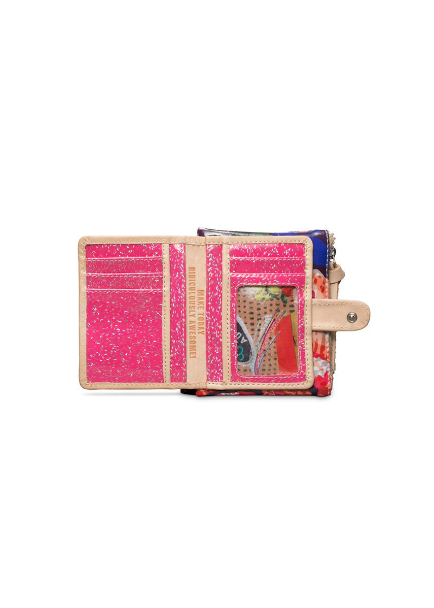 Royal Rosie Bifold Wallet By Consuela
