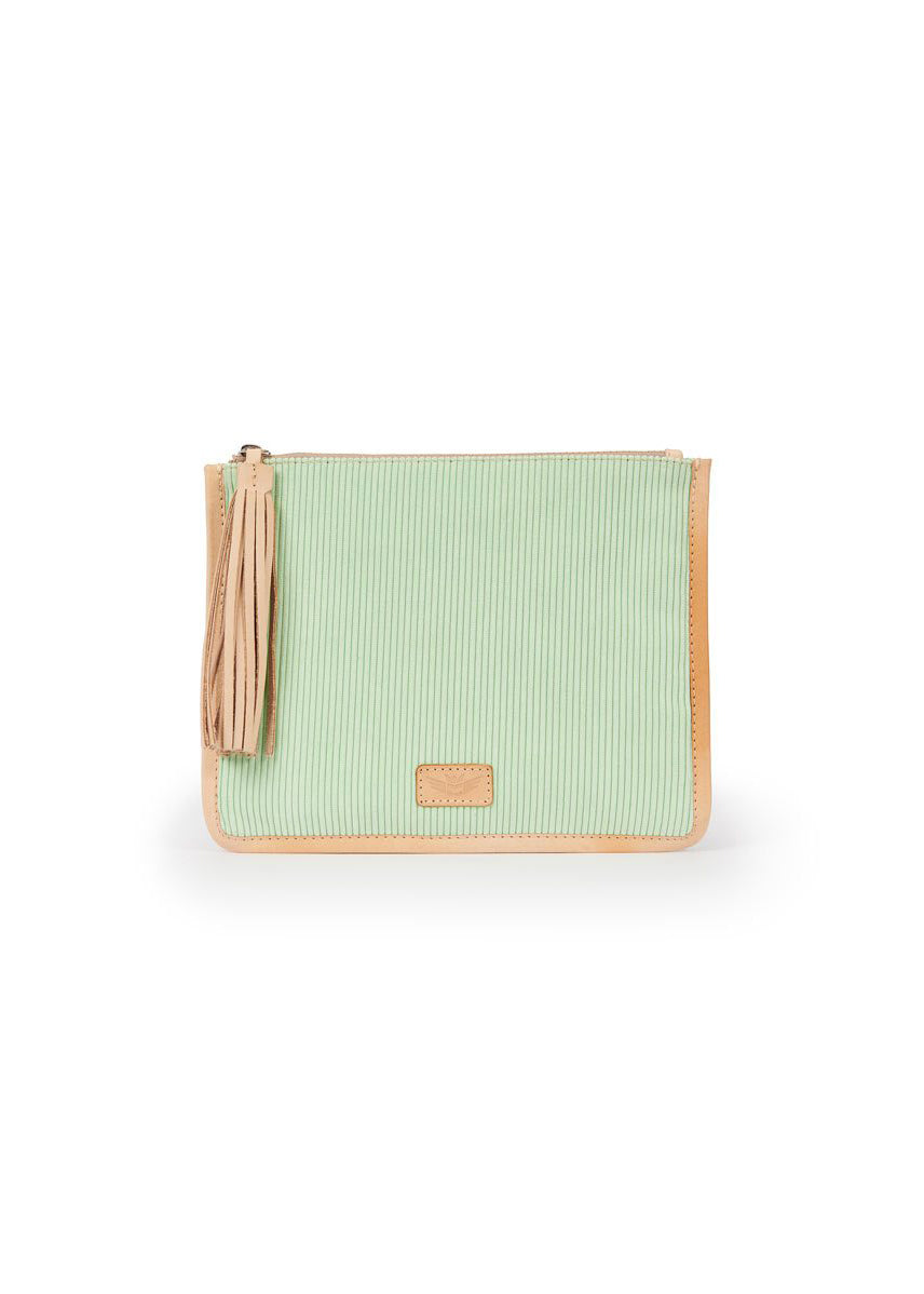 Mint Anything Goes Pouch By Consuela