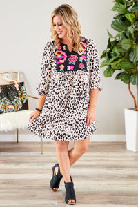 Laurette Embroidered Dress - FINAL SALE