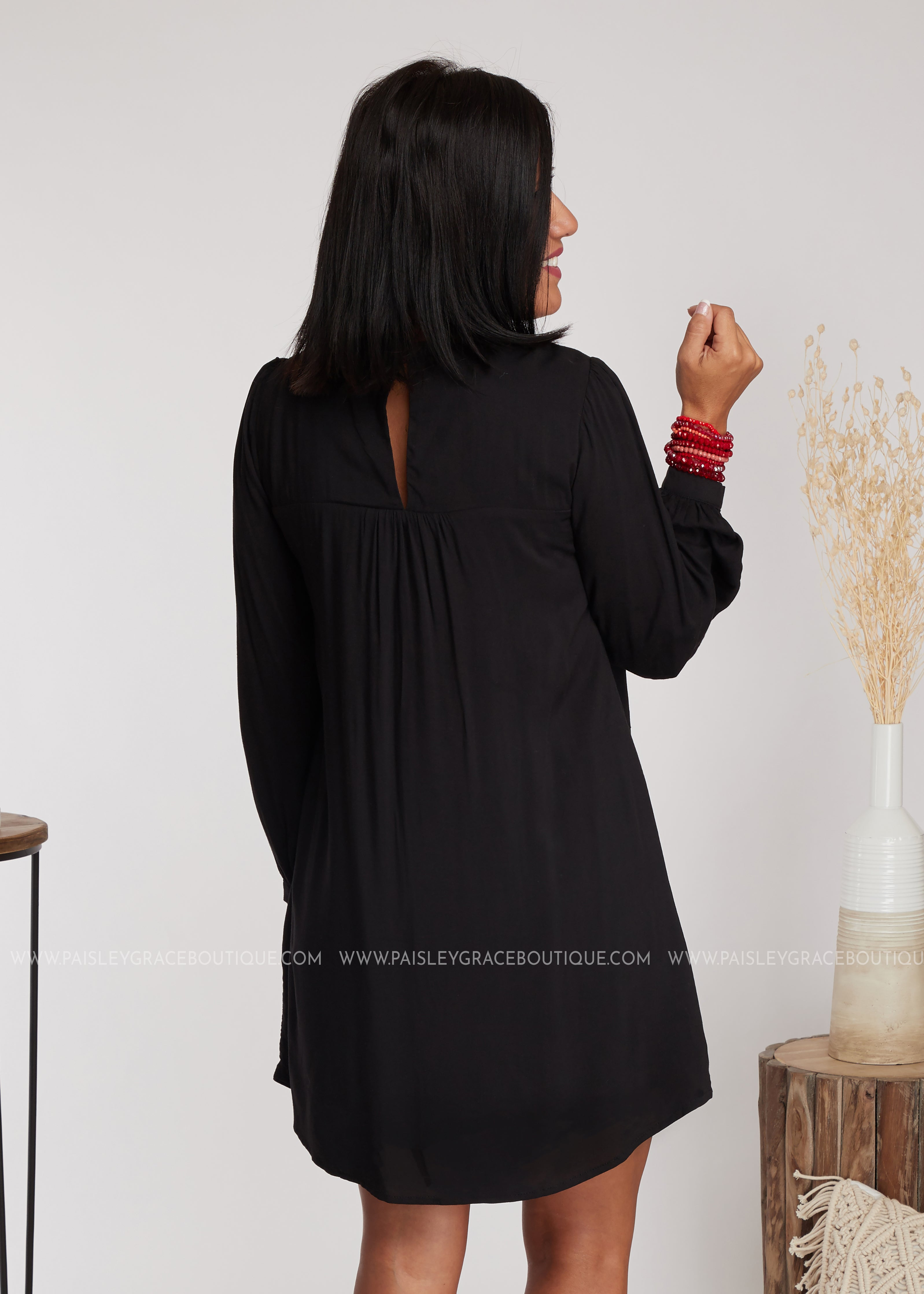 Alyvia Embroidered Dress