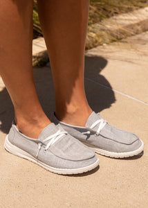 Holly Slip-On Sneaker- GREY