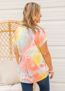 Sunrays Top- YELLOW  - FINAL SALE