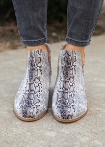 Wayland Booties by Corkys- BLACK SNAKE