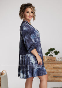 Austin Dress-BLUE - FINAL SALE