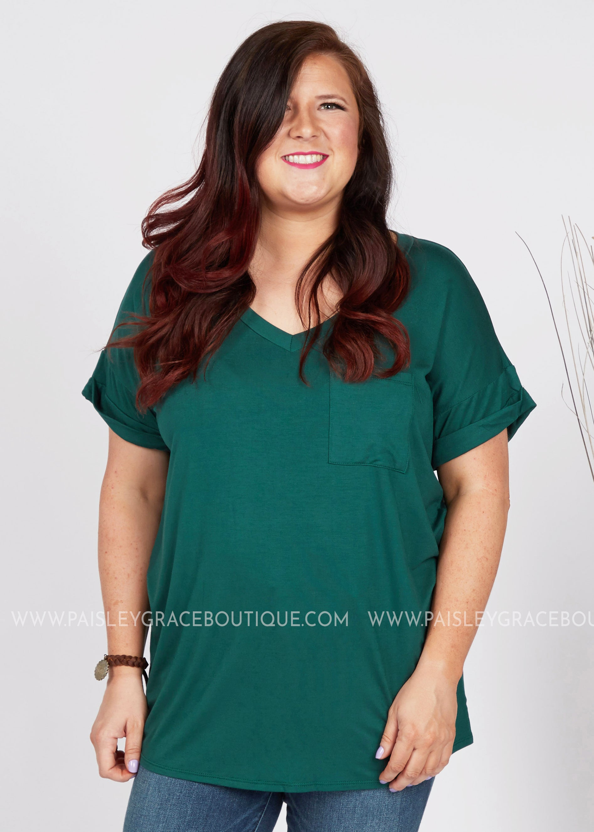 Basic Needs Tee- TEAL