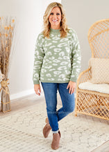 Load image into Gallery viewer, Bright Idea Sweater- SAGE - FINAL SALE