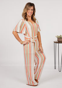 Cabana Escape Jumpsuit - Final Sale